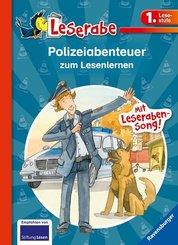 Polizeiabenteuer zum Lesenlernen - Leserabe 1. Klasse - Erstlesebuch für Kinder ab 6 Jahren