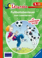 Fußballabenteuer zum Lesenlernen - Leserabe 1. Klasse - Erstlesebuch für Kinder ab 6 Jahren
