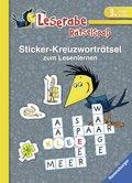 Leserabe, Rätselspaß - Sticker-Kreuzworträtsel zum Lesenlernen (3. Lesestufe)