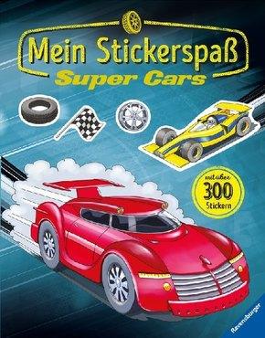 Mein Stickerspaß: Super Cars