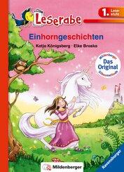 Einhorngeschichten - Leserabe 1. Klasse - Erstlesebuch für Kinder ab 6 Jahren