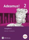 Adeamus!, Ausgabe B: Texte, Übungen, Begleitgrammatik; .2