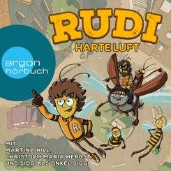 Rudi - Harte Luft, 1 Audio-CD