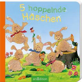 5 hoppelnde Häschen, Mini-Ausgabe