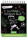 Mein Fußball-Kritzkratz-Buch, m. Holzstift