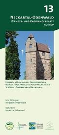 Odenwald Freizeitkarte Neckartal-Odenwald