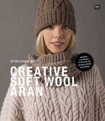 Stricken mit Creative Soft Wool Aran