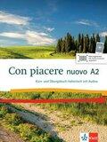Con piacere nuovo: Kurs- und Übungsbuch Italienisch, m. MP3-CD; A2
