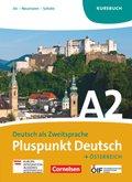 Pluspunkt Deutsch, Ausgabe Österreich: Kursbuch, Gesamtband; .A2