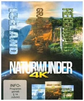 Naturwunder: 3 Naturwunder in einer Sammelbox 4K, 3 UHD-Blu-ray