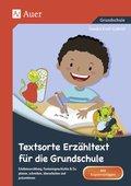 Textsorte Erzähltext für die Grundschule