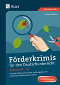 Förderkrimis für den Deutschunterricht Klassen 8-10