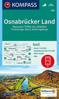 KOMPASS Wanderkarte Osnabrücker Land