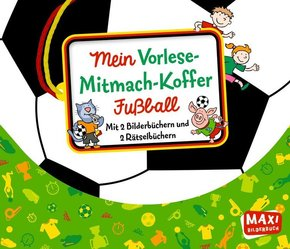 Mein Vorlese-Mitmach-Koffer - Fußball, 4 Bde.