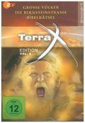 Terra X - Edition - Die Bernsteinstraße/Bibelrätsel/Große Völker, 3 DVD - Vol.2