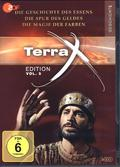 Terra X - Edition - Die Geschichte des Essens - Die Spur des Geldes - Die Magie der Farben, 3 DVD - Vol.5