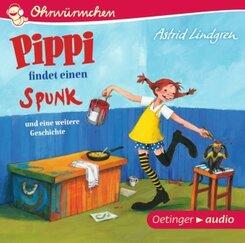 Pippi findet einen Spunk und eine weitere Geschichte, 1 Audio-CD