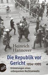 Die Republik vor Gericht 1954-1995; Band III