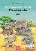 Der schlaue kleine Elefant, Deutsch/Italienisch, m. Audio-CD