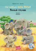 Der schlaue kleine Elefant, Deutsch/Russisch, m. Audio-CD