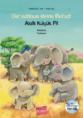 Der schlaue kleine Elefant, Deutsch/Türkisch, m. Audio-CD