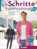 Schritte international Neu - Deutsch als Fremdsprache: Medienpaket, Audio-CDs und DVD zum Kursbuch; .5+6