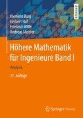 Höhere Mathematik für Ingenieure: Analysis; .1
