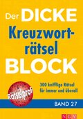 Der dicke Kreuzworträtsel-Block - Bd.27