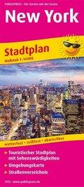 PublicPress Stadtplan New York