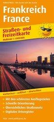 PUBLICPRESS Straßen- und Freizeitkarte Frankreich