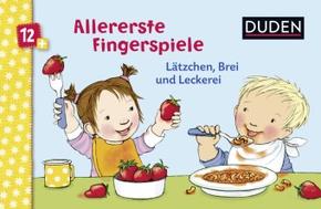 Allererste Fingerspiele - Lätzchen, Brei und Leckerei