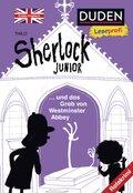 Sherlock Junior und das Grab von Westminster Abbey, Erstes Englisch