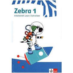 Zebra. Ausgabe ab 2018: 1. Schuljahr, Buchstabenheft und Arbeitsheft Lesen/Schreiben