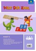 Welt der Zahl - Inklusionsmaterialien: Paket E, 4 Hefte; .E1-E4
