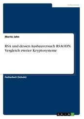 RSA und dessen Ausbauversuch RSAODN. Vergleich zweier Kryptosysteme