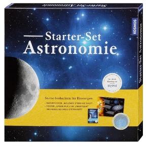 Starter-Set Astronomie ( Drehbare Sternkarte, Sternführer und Weltall-Poster)