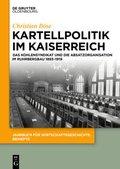 Kartellpolitik im Kaiserreich