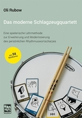 Das moderne Schlagzeugquartett, m. Lernspielkarten