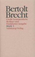 Werke, Große kommentierte Berliner und Frankfurter Ausgabe: Briefe; Bd.30 - Tl.3