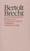 Werke, Große kommentierte Berliner und Frankfurter Ausgabe: Gedichte; .14 - Tl.4