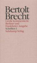 Werke, Große kommentierte Berliner und Frankfurter Ausgabe: Schriften; .21 - Tl.1