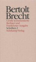 Werke, Große kommentierte Berliner und Frankfurter Ausgabe: Schriften, 2 Bde.; .22 - Tl.2