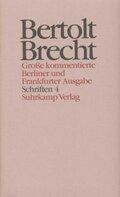 Werke, Große kommentierte Berliner und Frankfurter Ausgabe: Schriften; .24 - Tl.4