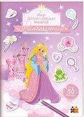 Mein Glitzer-Sticker-Malspaß. Prinzessinnen