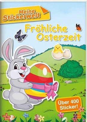Meine Stickerwelt - Fröhliche Osterzeit