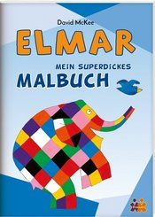 Mein superdickes Malbuch - Elmar