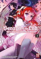Seraph of the End - Guren Ichinose Catastrophe at Sixteen (Novel) - Bd.3