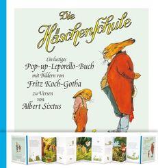Die Häschenschule: Die Häschenschule - Ein lustiges Pop-up-Leporello-Buch