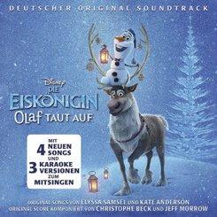 Die Eiskönigin: Olaf taut auf, 1 Audio-CD (Soundtrack)