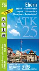 Amtliche Topographische Karte Bayern Ebern